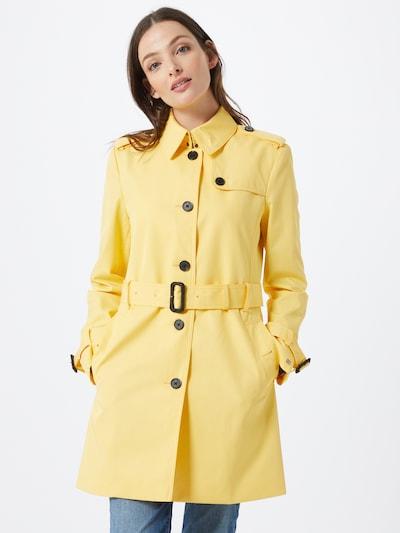 TOMMY HILFIGER Mantel in gelb, Modelansicht