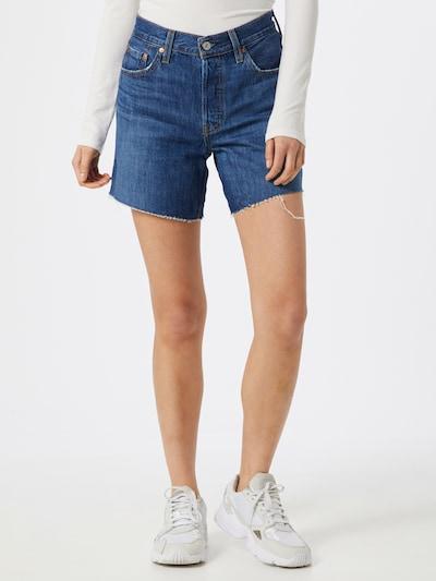 LEVI'S Short '501' in blue denim, Modelansicht