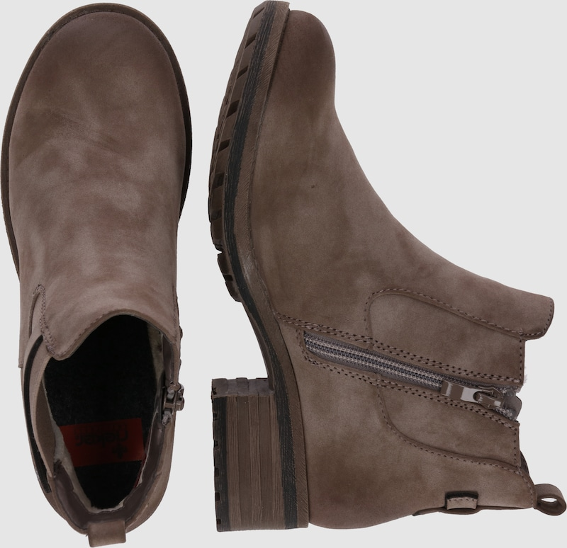 RIEKER | Chelsea-Stiefelette mit leichter Fütterung Schuhe Gut getragene getragene getragene Schuhe 3a5e4a