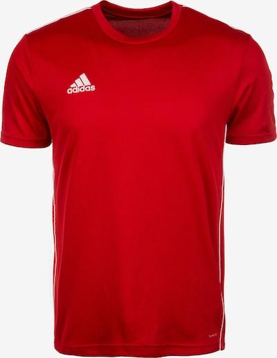 ADIDAS PERFORMANCE Functioneel shirt 'Core 18' in de kleur Rood / Wit, Productweergave