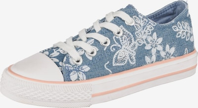 CANADIANS BY INDIGO Sneakers Low in blau: Frontalansicht