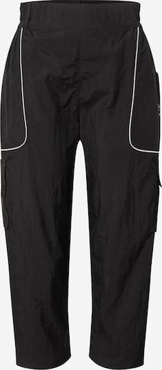 Pantaloni Reebok Classic pe negru / alb, Vizualizare produs