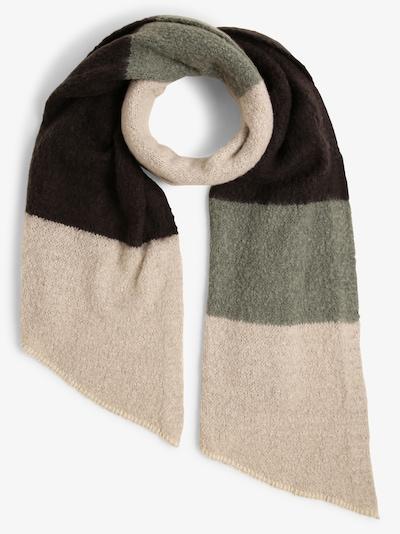Franco Callegari Schal in beige / grün / schwarz, Produktansicht