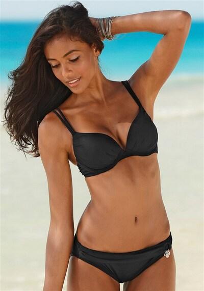 s.Oliver Bikini w kolorze czarnym, Podgląd na modelu(-ce)