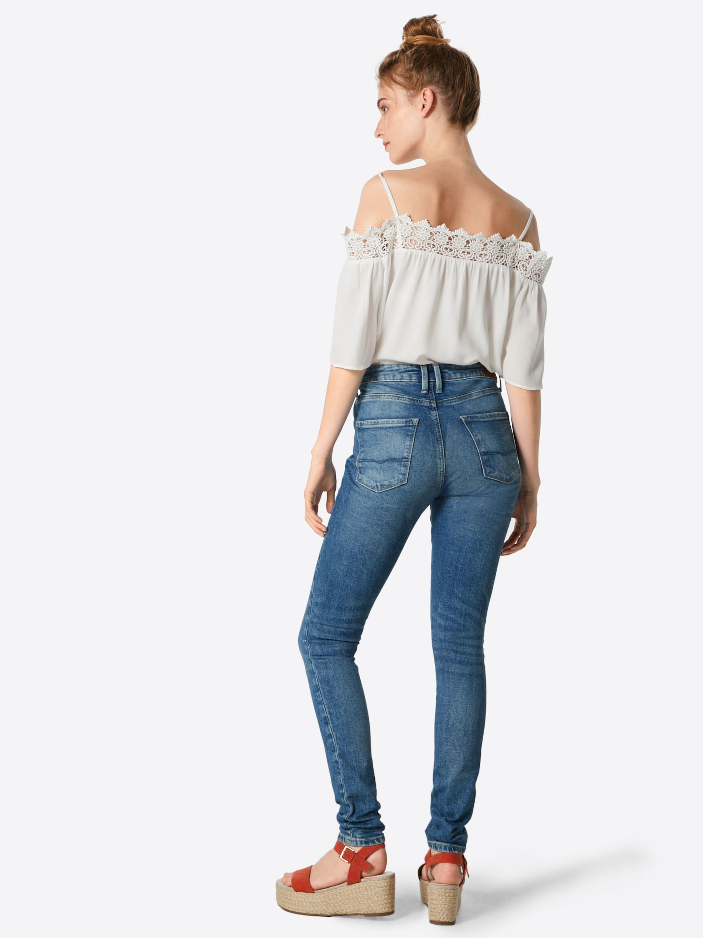 Bleu 'regent' Jean En Denim Pepe Jeans HYWE9D2I
