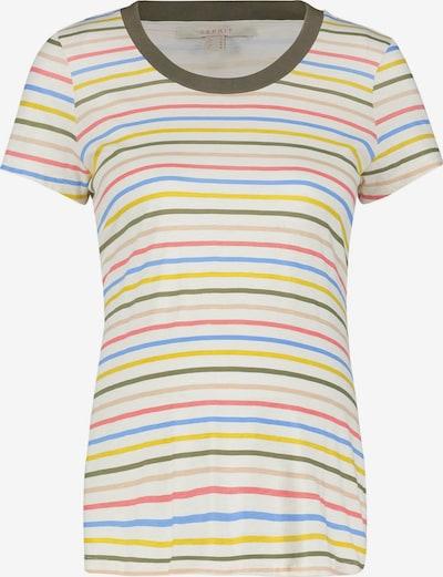 Esprit Maternity T-shirt in blau / gelb / grün / rot / weiß, Produktansicht