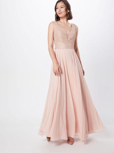 LUXUAR Kleid in puder, Modelansicht