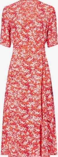 TOMMY HILFIGER Kleid 'Leonora' in dunkelorange / rot / weiß, Produktansicht
