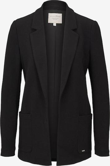 TOM TAILOR DENIM Blazer in schwarz, Produktansicht