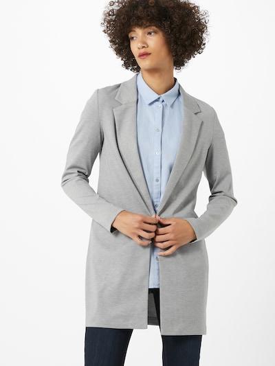 VERO MODA Blazer 'CHLOE' en gris chiné, Vue avec modèle