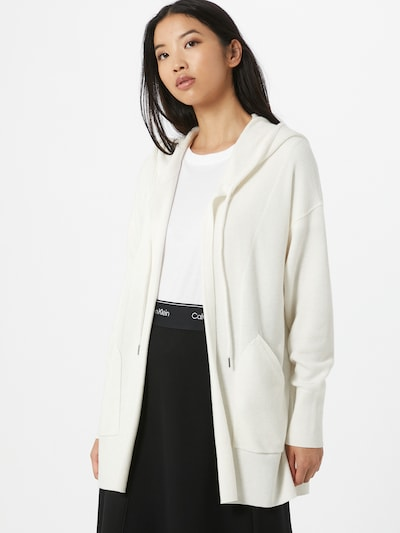 Calvin Klein Kardigan w kolorze białym, Podgląd na modelu(-ce)