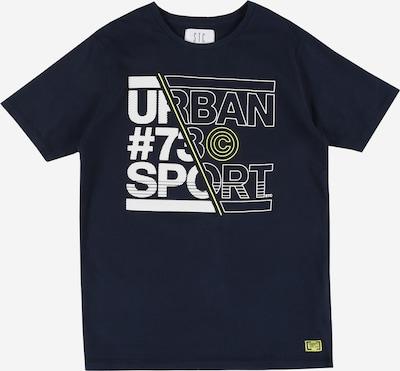 STACCATO T-Shirt en bleu marine / blanc: Vue de face