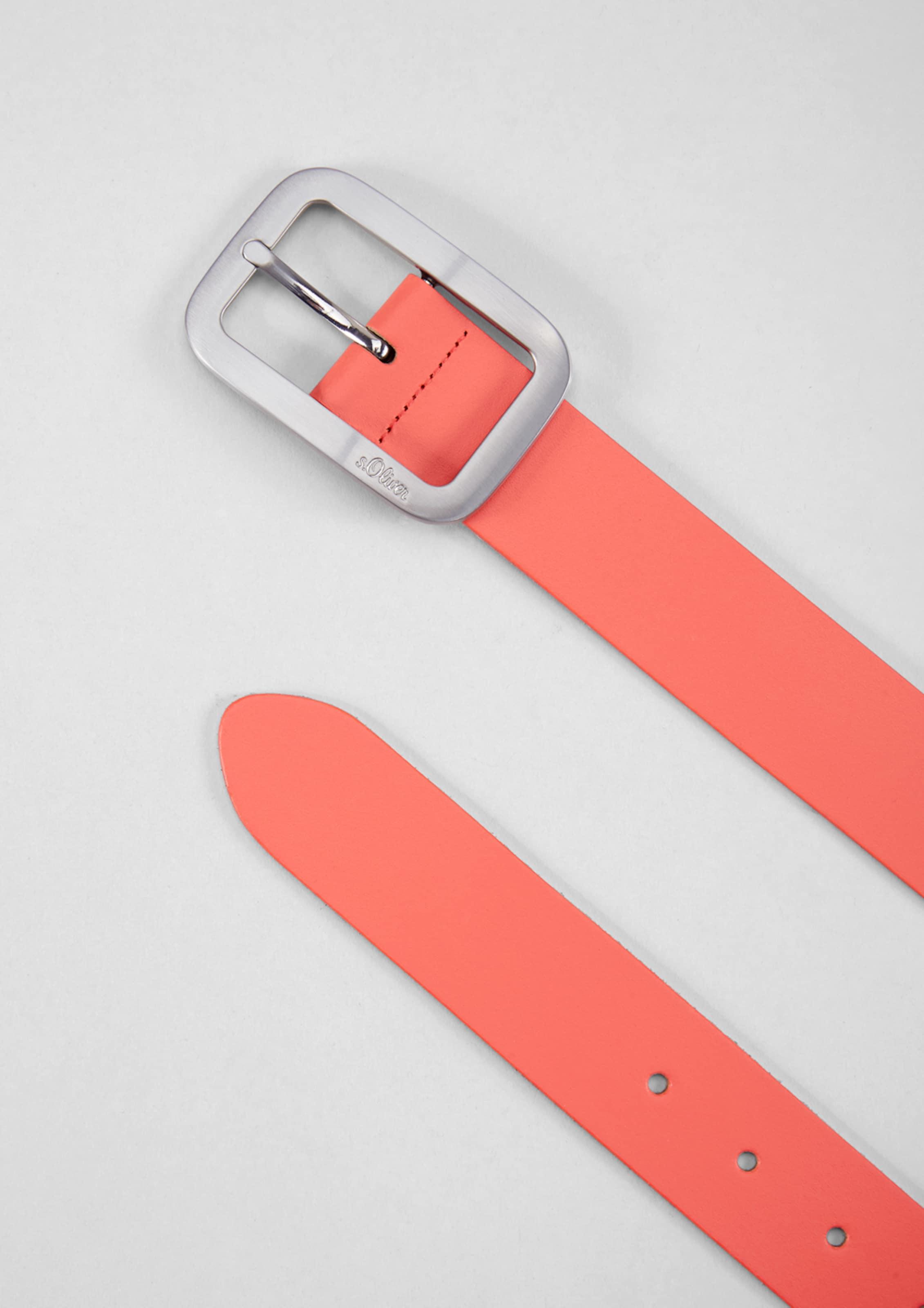 s.Oliver RED LABEL Ledergürtel mit Metallschließe Günstig Versandkosten Erstaunlicher Preis Zu Verkaufen Ausverkaufs-Shop HCOyxXkL
