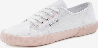 Sneaker low LASCANA pe roz pal / alb, Vizualizare produs