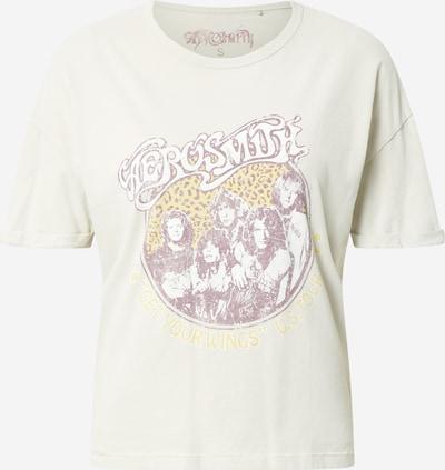 ONLY T-Shirt 'AEROSMITH LIFE' in hellgrau / mischfarben, Produktansicht