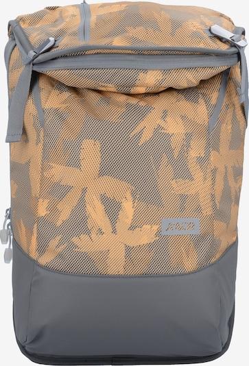 AEVOR Rucksack in graumeliert / orange, Produktansicht