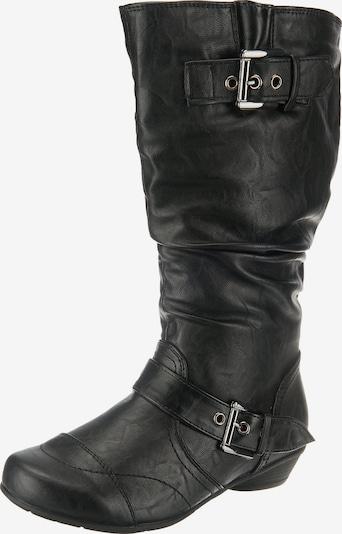 UNLIMITED Stiefel in schwarz: Frontalansicht