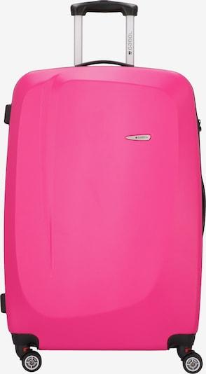 Gabol Trolley in dunkelgrau / pink, Produktansicht