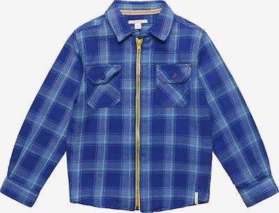 ESPRIT Hemd in blau / limone / dunkelrot, Produktansicht