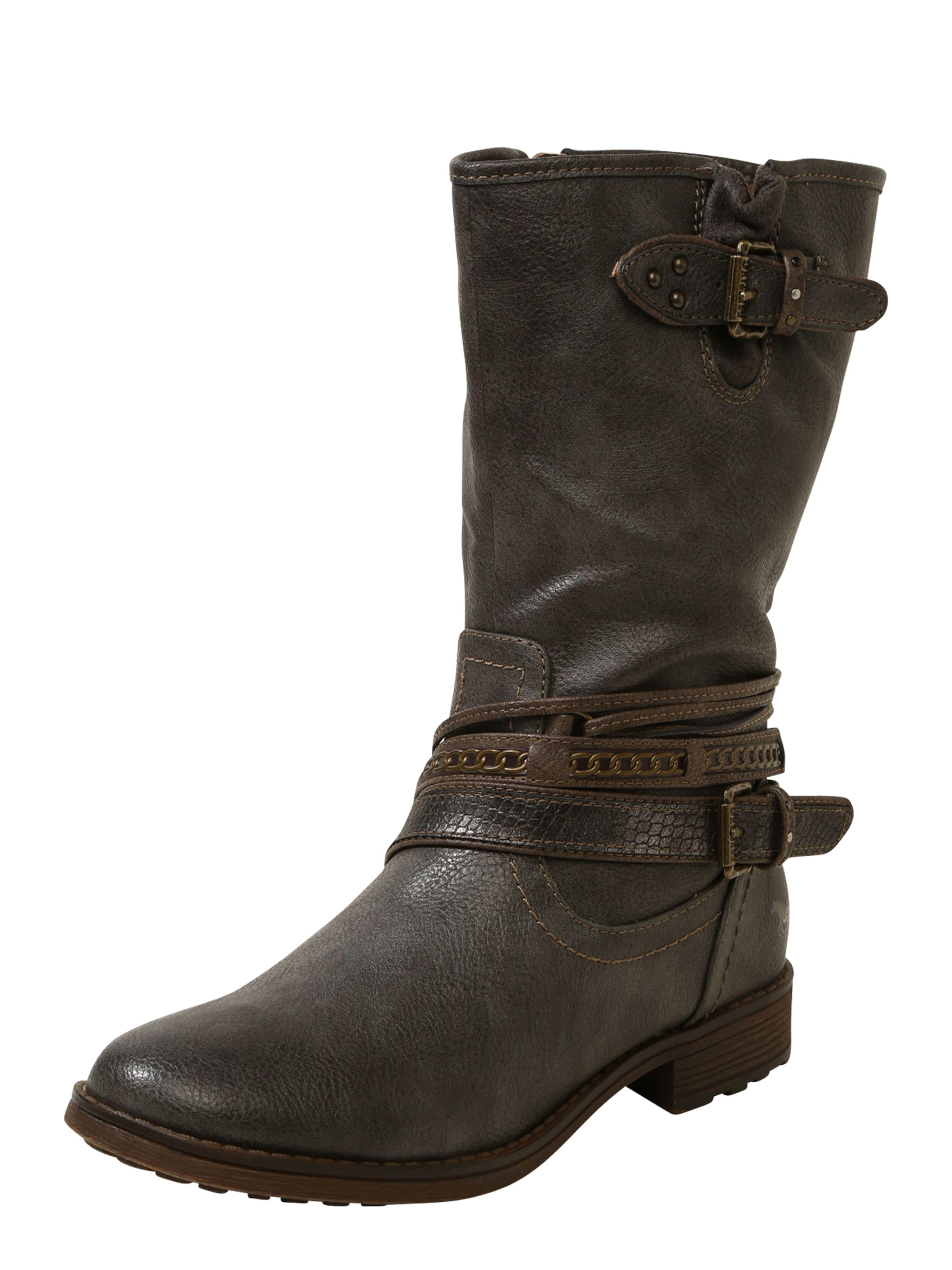 Haltbare Mode billige Schuhe MUSTANG | Stiefel mit Zierschnallen Schuhe Gut getragene Schuhe