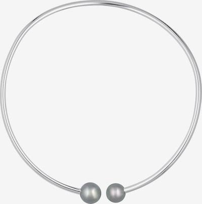 CHRIST Kette 'Pearls' in silbergrau, Produktansicht