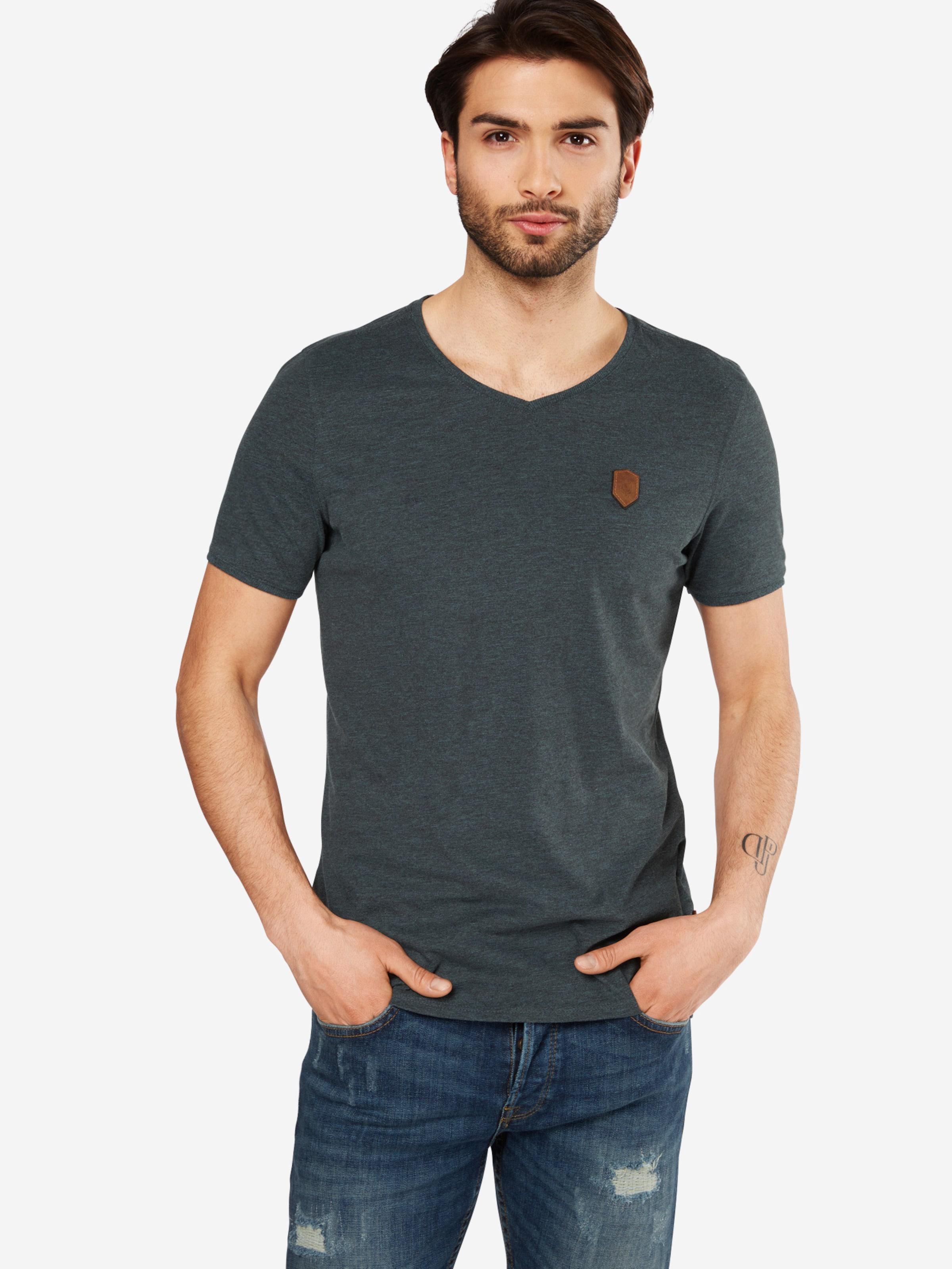 naketano T-Shirt in Melange-Optik Billig Viele Arten Von 2YNsFtL