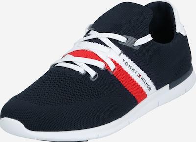 tengerészkék / piros TOMMY HILFIGER Rövid szárú edzőcipők, Termék nézet