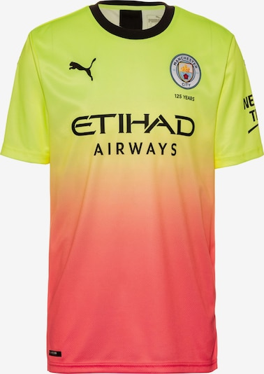 PUMA Trikot 'Manchester City 19/20 3rd' in limone / pfirsich, Produktansicht