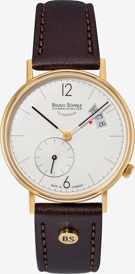 Bruno Söhnle Uhr 'Rondo' in kastanienbraun, Produktansicht