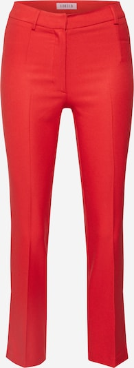 Pantaloni cu dungă 'Lennie' EDITED pe roșu, Vizualizare produs