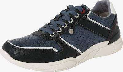 MUSTANG Sneaker in navy / himmelblau / weiß, Produktansicht