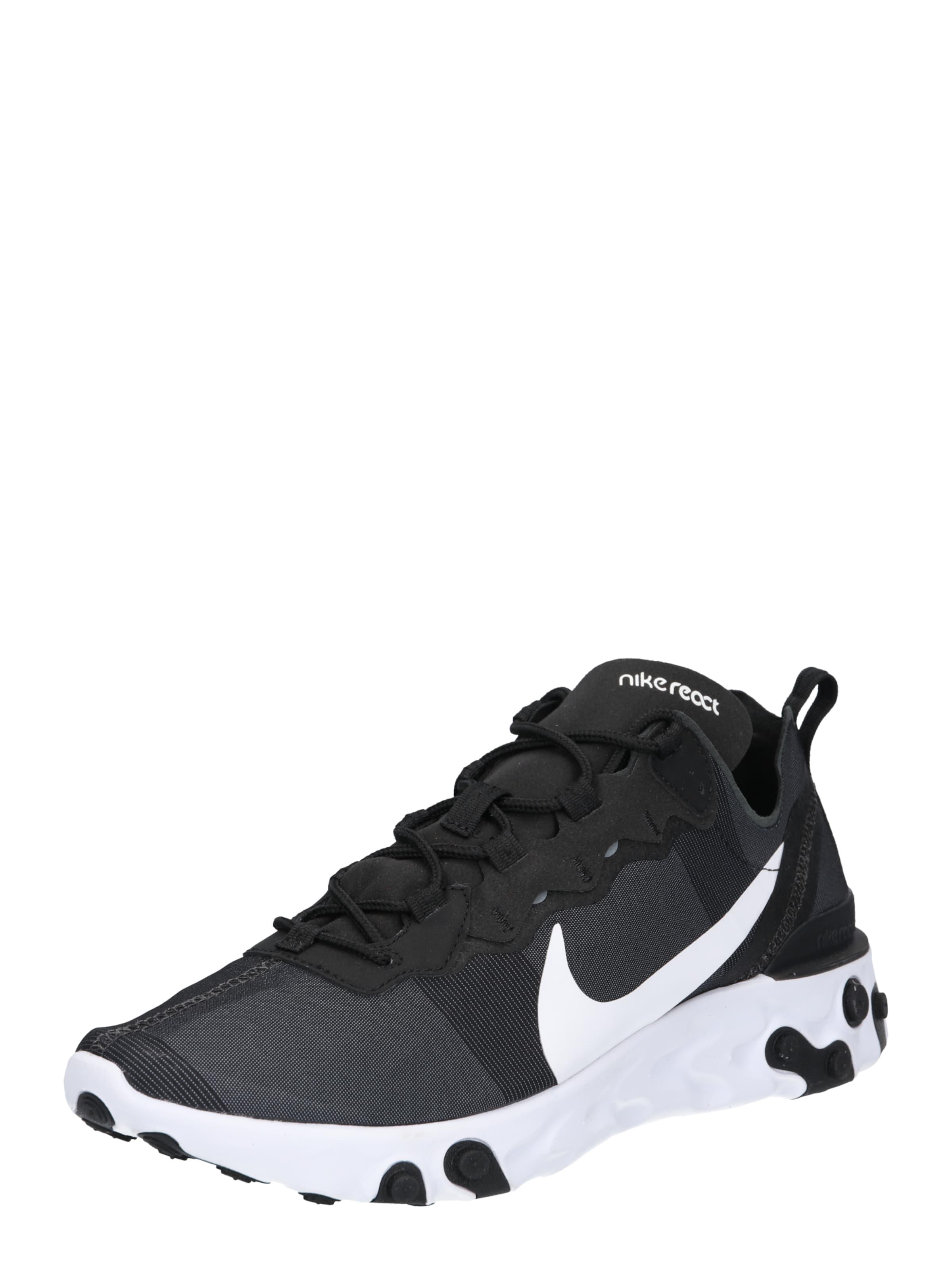 Sportswear React 55' Sneaker 'nike SchwarzWeiß In Nike edCoxB