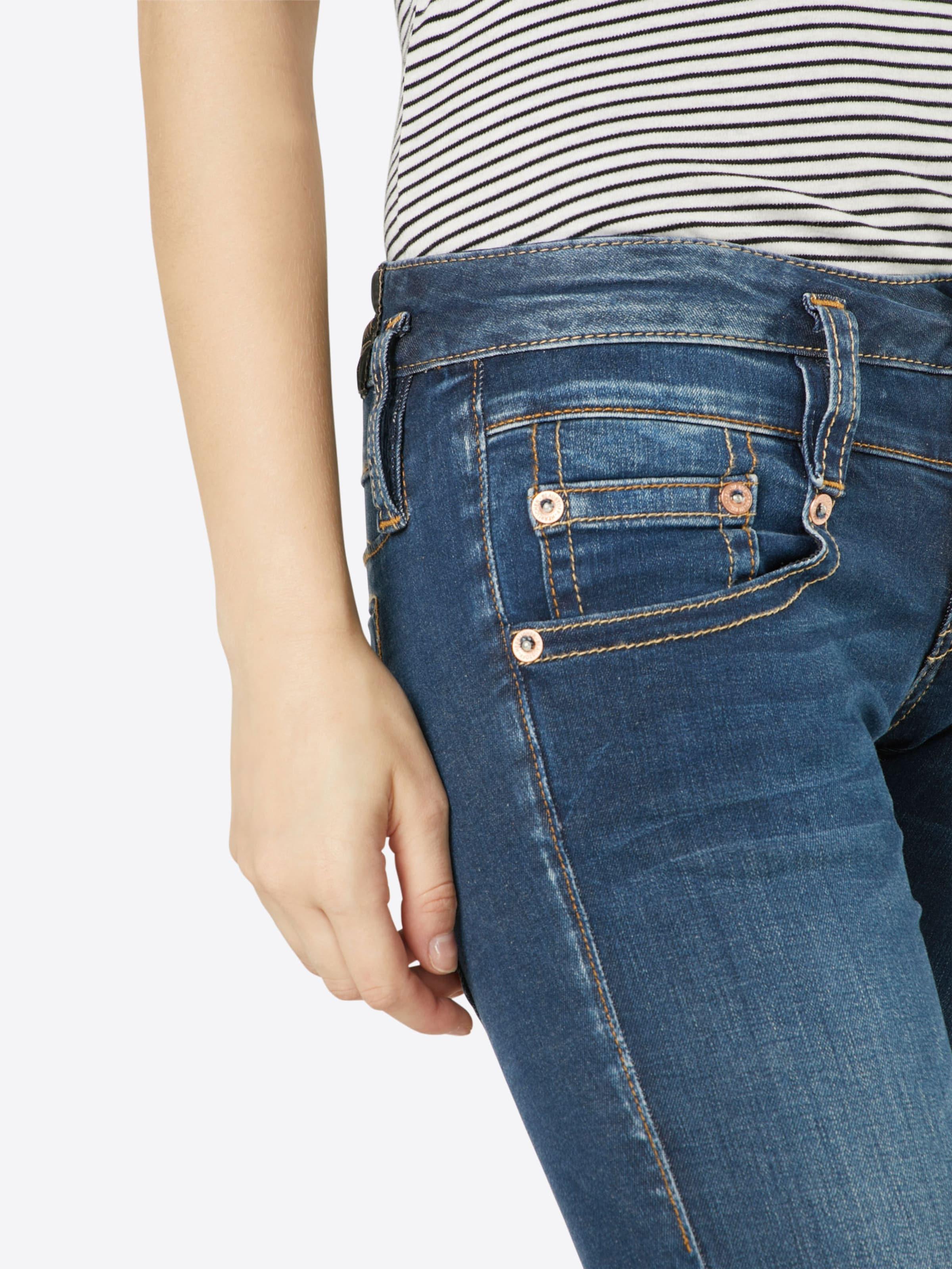 Erschwinglich Offiziell Herrlicher 'Pitch' Jeans im Used Look mit Kontrastnähten Günstig Kaufen Neueste Freies Verschiffen Billig Qualität Mit Visum Günstigem Preis Zahlen wqJBp