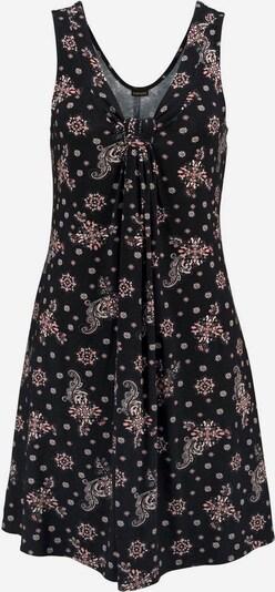 LASCANA Strandjurk in de kleur Oudroze / Zwart, Productweergave