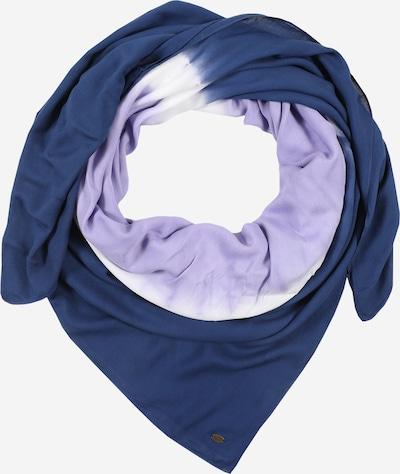 ESPRIT Stoffen mondkapje 'Batik' in de kleur Donkerblauw / Lila / Wit, Productweergave