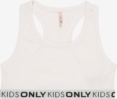 KIDS ONLY Sport-Bustier  'KONLOVE' in weiß, Produktansicht