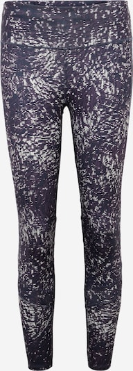 ADIDAS PERFORMANCE Leggings 'HOW WE DO' in dunkelgrau / beere / weiß, Produktansicht
