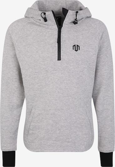 MOROTAI Sweatshirt 'NKMR Neotech Zip Hoodie' in hellgrau, Produktansicht