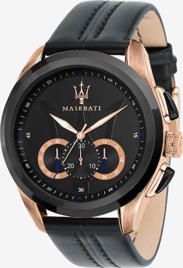Maserati Uhr 'Traguardo' in goldgelb / schwarz, Produktansicht