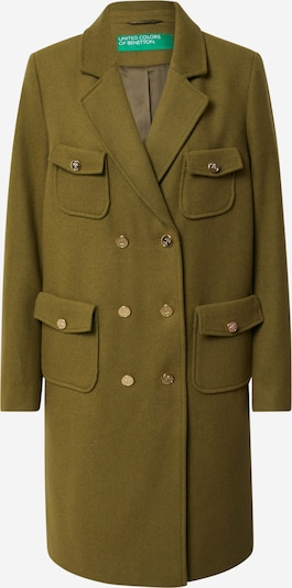 UNITED COLORS OF BENETTON Trenchcoat in oliv, Produktansicht