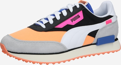 PUMA Sneakers laag 'RIDER PLAY ON' in de kleur Blauw / Grijs / Perzik, Productweergave