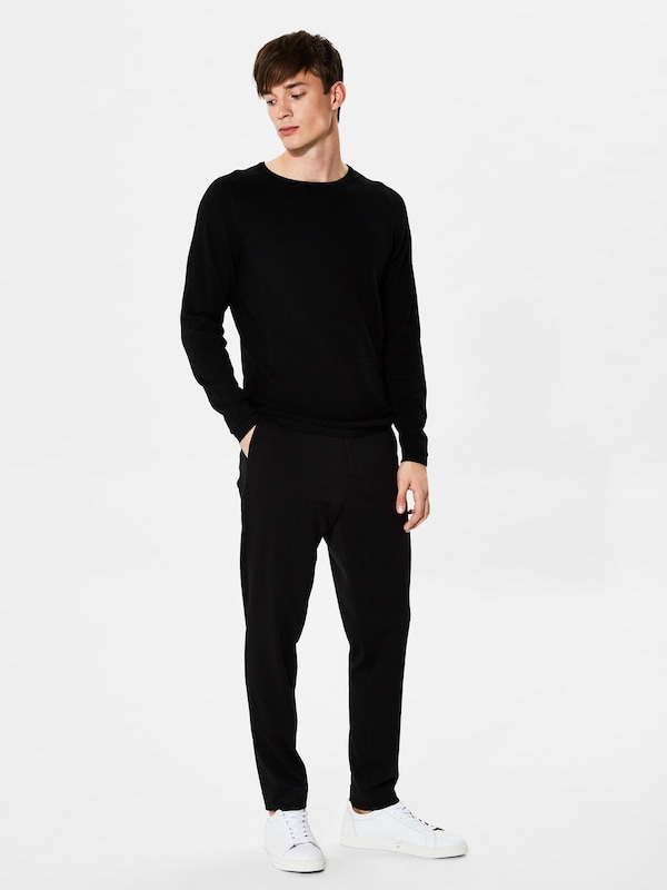 SELECTED HOMME Strickpullover Crew-Neck