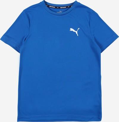 PUMA Sportshirt in blau / weiß, Produktansicht