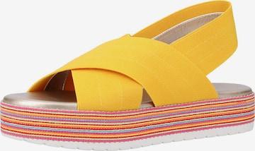 Rapisardi Sandale in Gelb