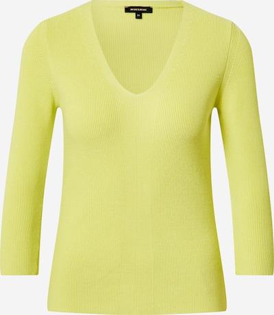 MORE & MORE Rippenpullover in limone, Produktansicht