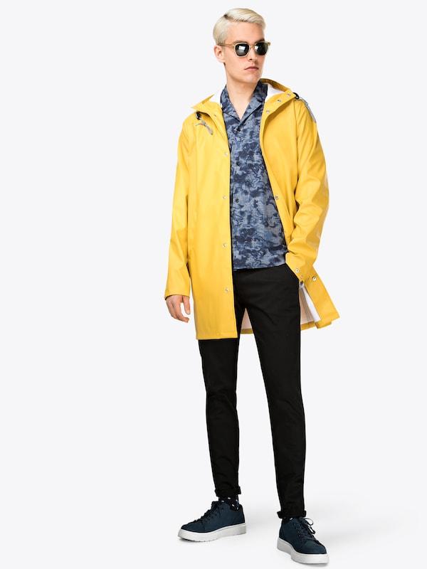 En Mi saison Manteau Knowledgecotton Jaune Rain 'long Apparel Jacket' eWYHIED29b