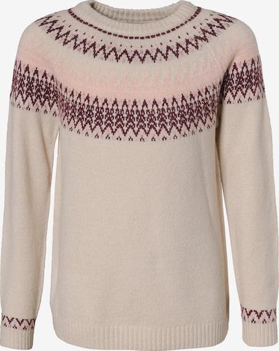 KIDS ONLY Pullover in beige / hellpink / weinrot, Produktansicht