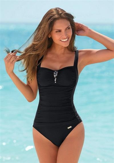 LASCANA Badeanzug in schwarz, Modelansicht
