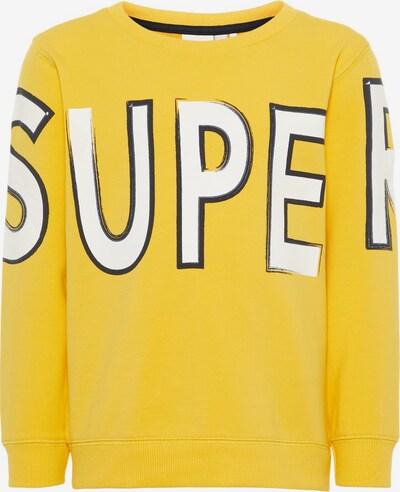 NAME IT Sweatshirt  'NMMDARKO SWEAT UNB' in gelb, Produktansicht