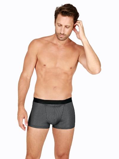 HOM Boxershorts in schwarz, Modelansicht